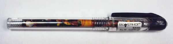 Ручка гелевая синяя Silwerhof Трансформеры 0.5мм