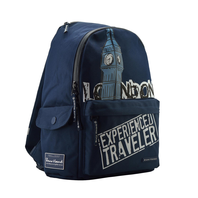 Рюкзак молодежный BV Лондон синий