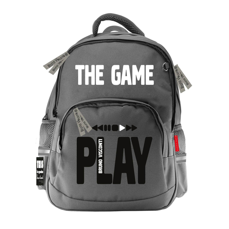 Рюкзак эргономич. BV Play The Game серый