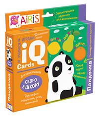 Набор занимательных карточек для дошколят. Пандочка (6+)