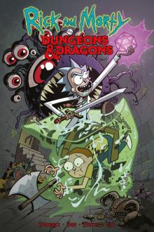 Рик и Морти против Dungeons & Dragons: комиксы