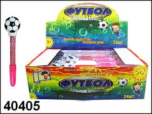 АКЦИЯ19 Игр Мыльные пузыри 7мл Футбол + шариковая ручка