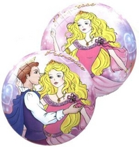 Мяч 14см Принцесса