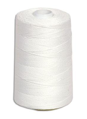 Нитки швейные белые 1000м лавсано-штапелированная