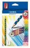 Карандаши цветные 12 цв Lyra Groover slim треуг. + точилка