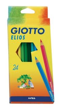 Карандаши цветные 24 цв Giotto Elios