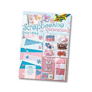Набор для скрапбукинга Baby (розово-голубые тона)