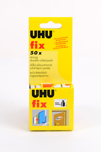 Клеевые пластины UHU Fix (в рулоне) двухстор. д/постоян. приклеивания
