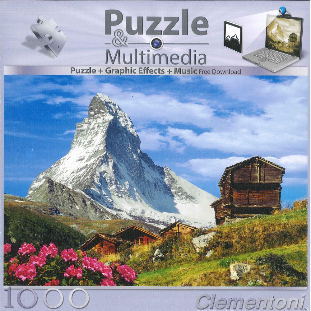 АКЦИЯ19 Пазл 1000 Clementoni 39154 Cervino-Matterhorn