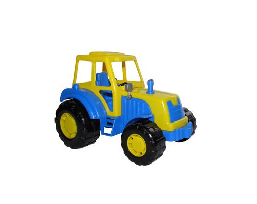 """Трактор """"Мастер"""" пластмас. 19см"""