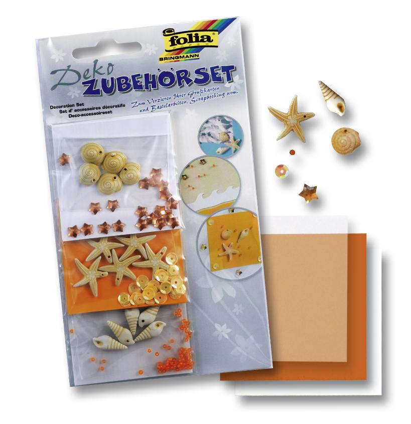 Набор для скрапбукинга Морские ракушки (аксессуары для декорирования)