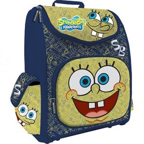 Рюкзак Sponge Bob ортопедический синий с желтым