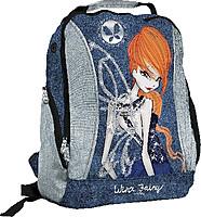 Рюкзак Winx Jairy синий с серебряными вставками