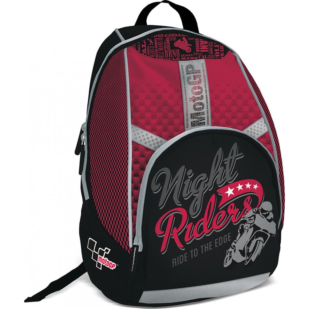 Рюкзак Seventeen Night Ridess черный с красным