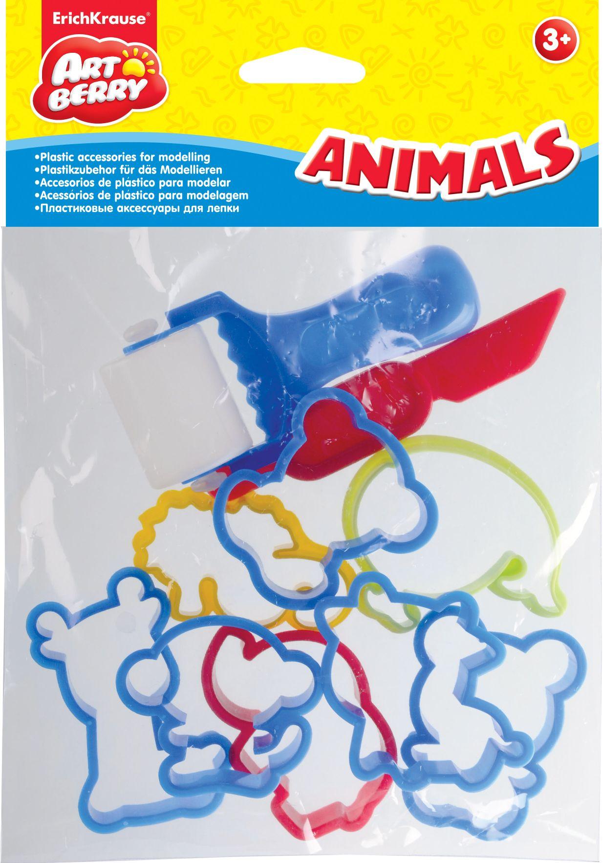 Формочки для лепки Artberry Animals