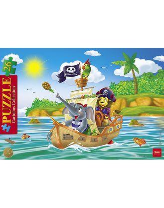 Пазл 26 Забавные пираты в рамке 20х30 см