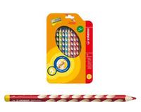 Карандаши цветные 12 цв Stabilo EasyColors (для ЛЕВШЕЙ) к/к