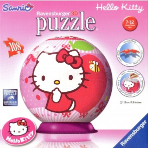 Пазл 100+Пазл-шар 60 Ravensburger 108411 Hello Kitty