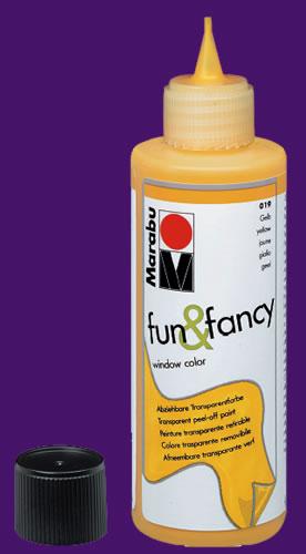 Съемная краска витражная Фиолетовый 80 мл