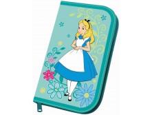 Пенал 1 отд полн EK Alice in Wonderland