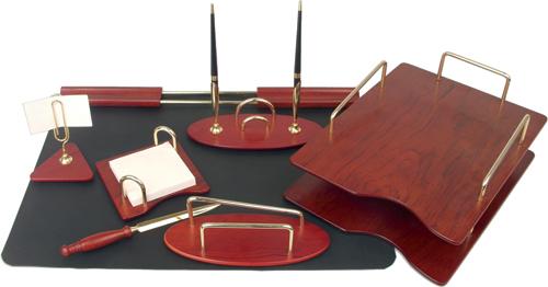 Набор настольный деревянный 7пр.с 2 ручками