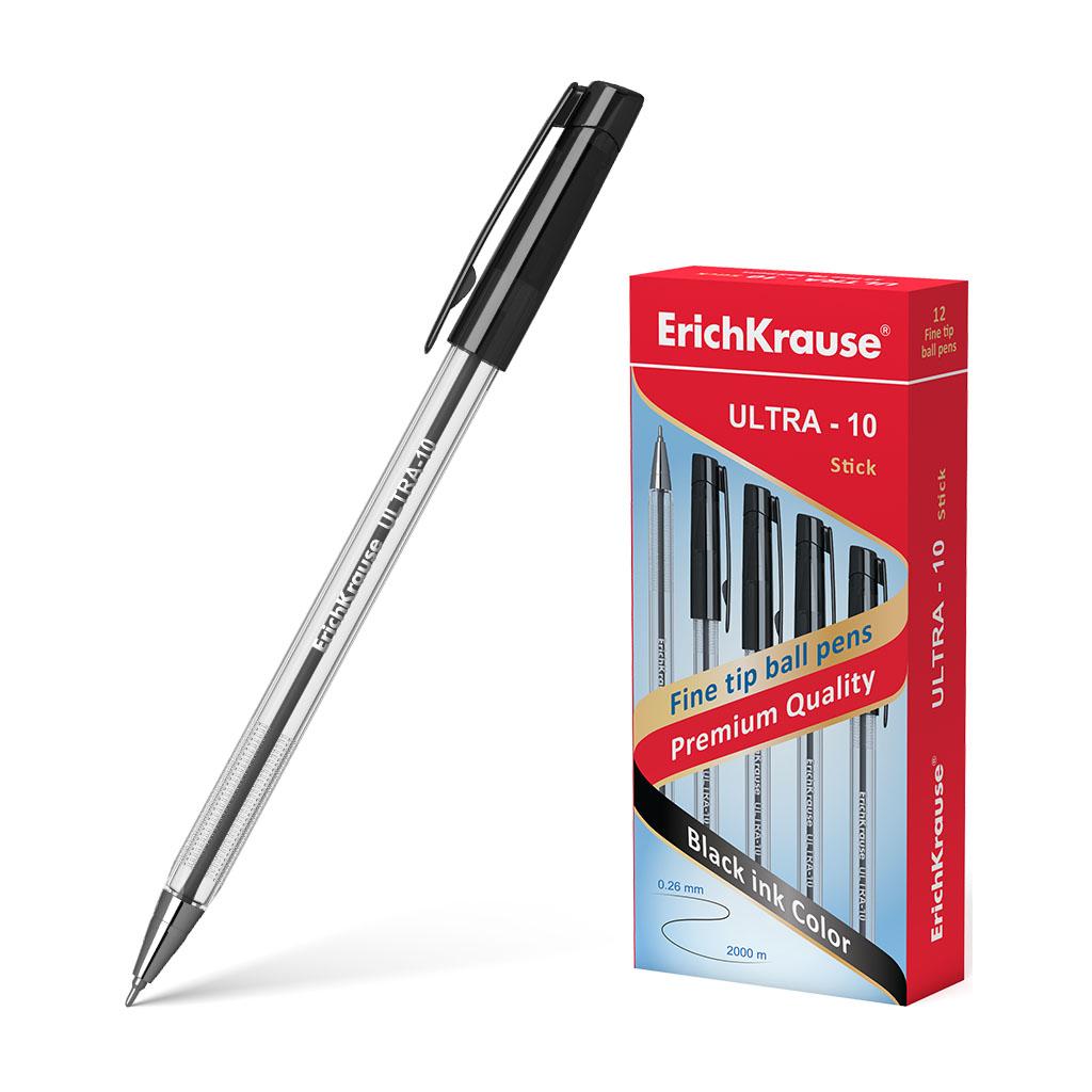 Ручка шариковая черная EK Ultra 0.6мм