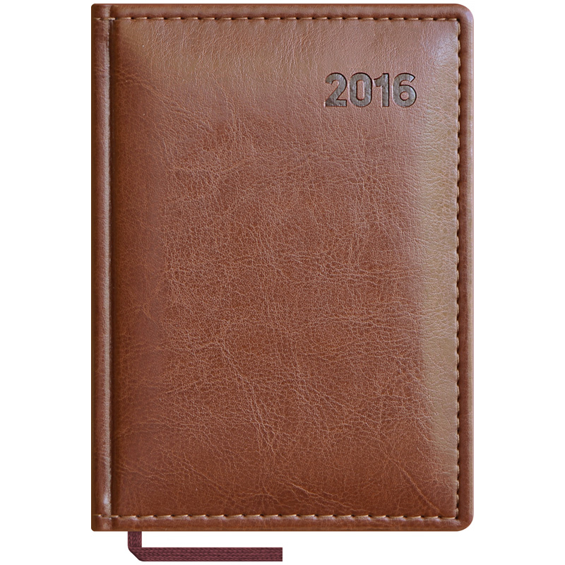 Телефонная книжка EK А6 Vivella brown