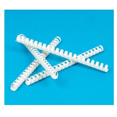 Пружина для переплета 1шт 19мм белые пластиковые