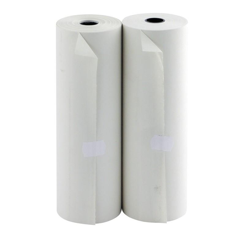 Бумага для принтеров 420*70*18 с перфорацией ролик 96%