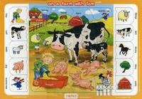 Пазл-планшет На ферме с Томом = On a farm with Tom