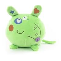 Мягконабивная Button Blue Мышка зеленая 10см