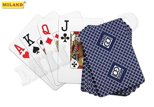Игра Карты игральные 54шт PokerGo blue 63*88мм