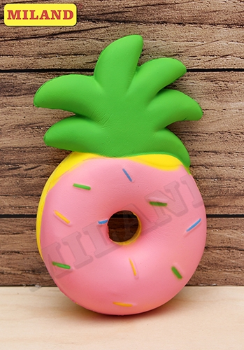 Сквиш Пончик-ананас 15*9,5*4см