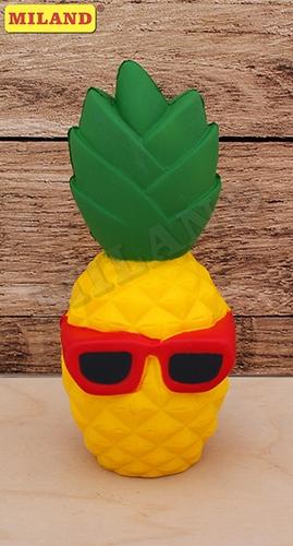 Сквиш Весёлые ананасы 13*7*3,8см