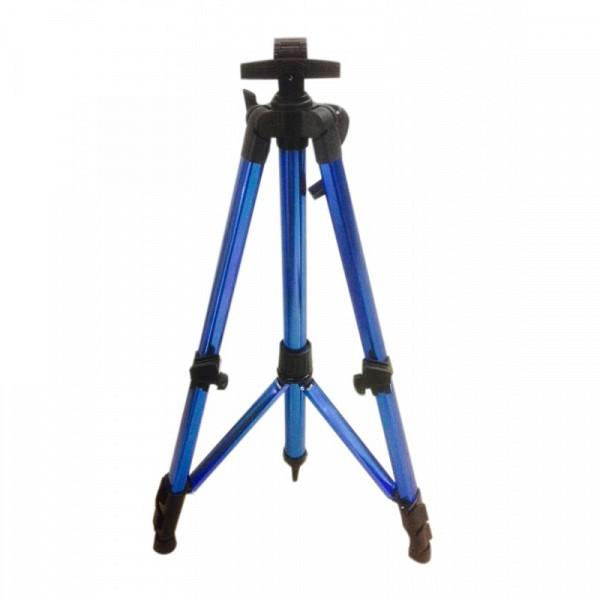 Мольберт напольный металл тренога синий с ручкой