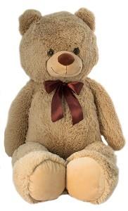 Мягконабивная TALLULA Медведь кофейный 100см