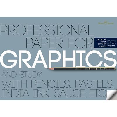 Бумага д/графики А4 10л Graphics 300гр.