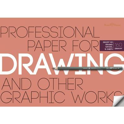 Бумага д/рисунка и графики А4 10л Drawing 160гр.