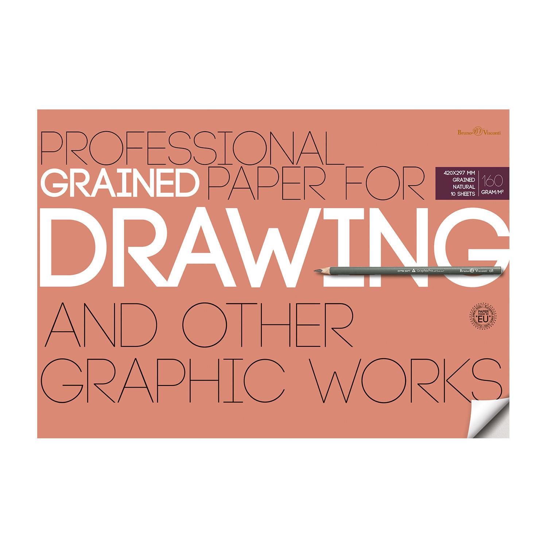 Бумага д/рисунка и графики А3 10л Drawing 160гр.