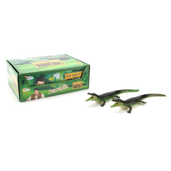из ПВХ Крокодил пищащий 33см