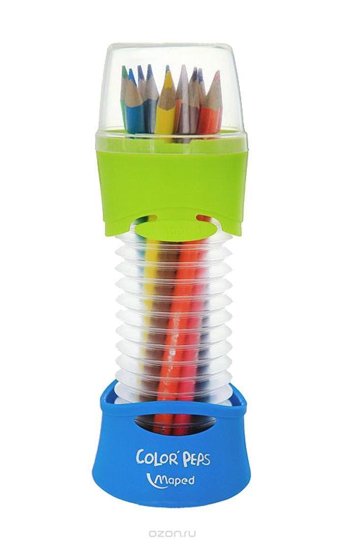Карандаши цветные 12 цв Maped Color Peps Flex Box в гибком пенале
