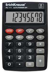 Калькулятор 8 разр. Erich Krause PC-111