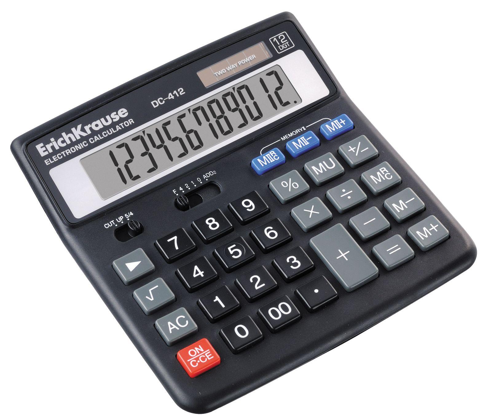 Калькулятор 12 разр. EK DC-412