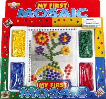 Мозаика 120 фишек Моя первая мозаика (d12 4цв)