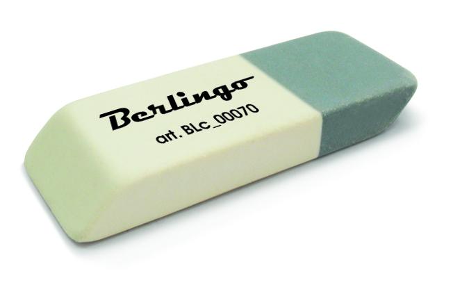 Ластик Berlingo двухцветный