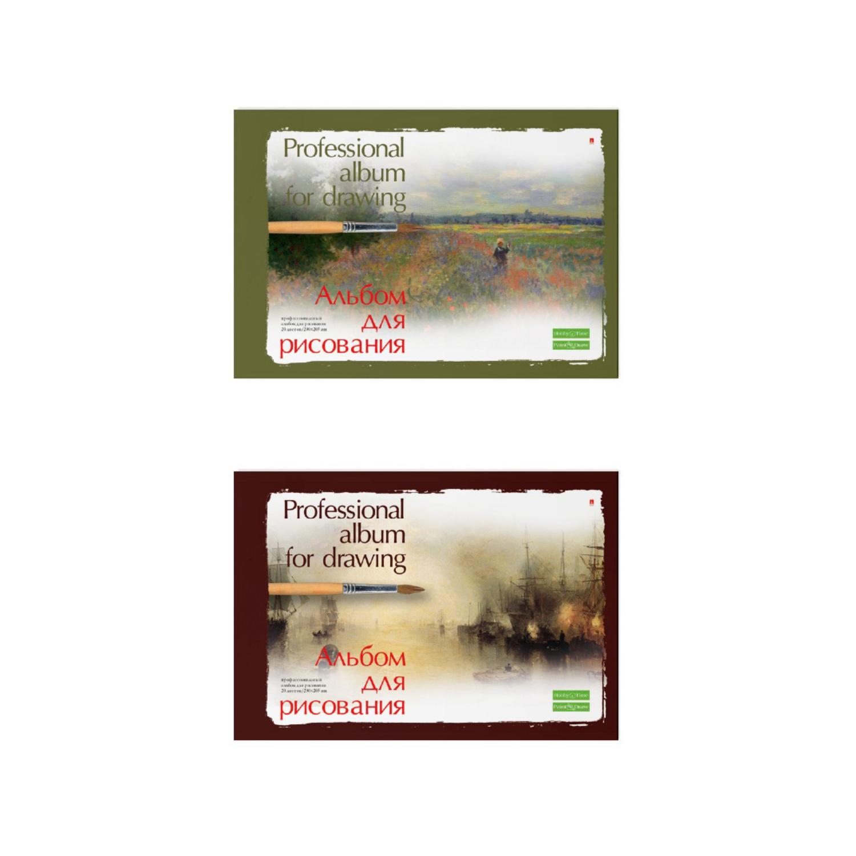 Альбом д/рис 20л Профессиональная серия склейка