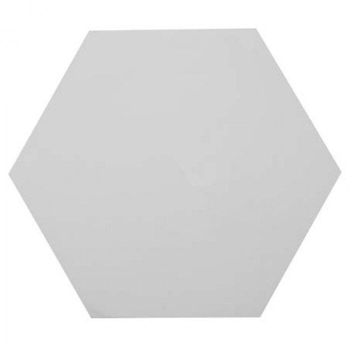 "Холст на картоне шестиугольник 12"""