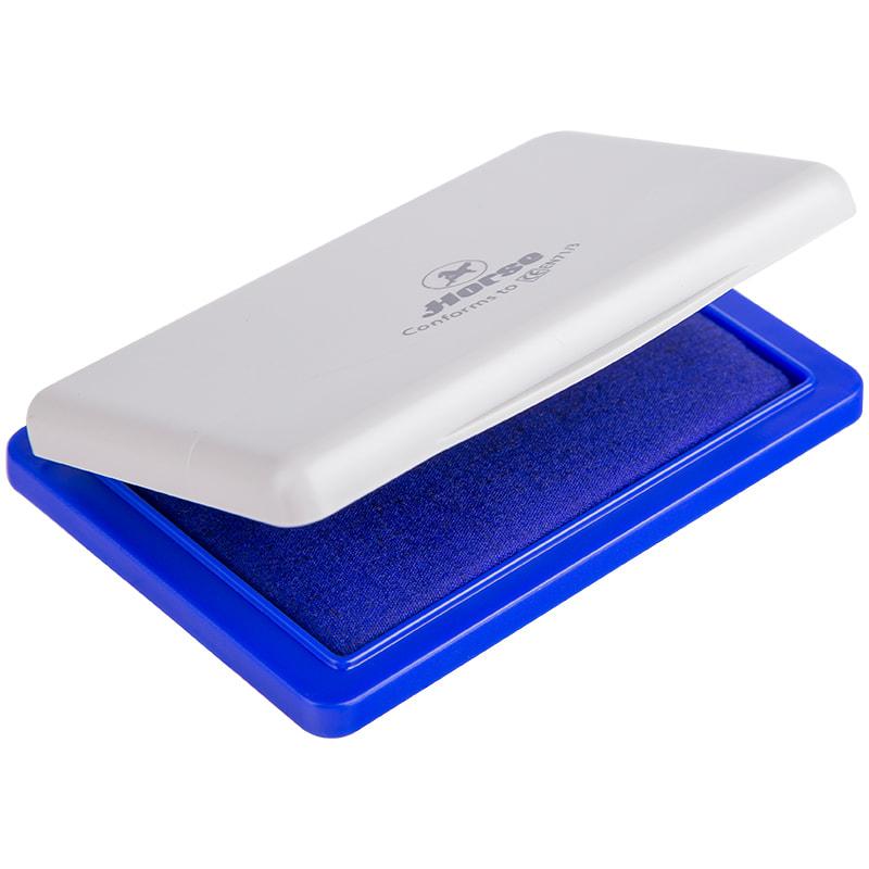 Подушка штемпельная синяя 45*70мм