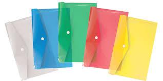Папка-конверт А6 EK Crystal Clear с верх. клапаном