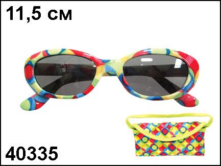 АКЦИЯ19 Очки солнцезащитные детские Диско + сумочка